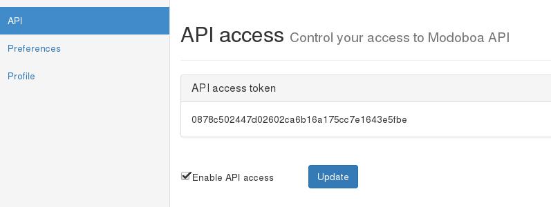 REST API — Modoboa 1 10 0 documentation